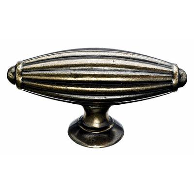 "Top Knobs M155 Tuscany T-Handle Large 2 7/8"" - German Bronze"
