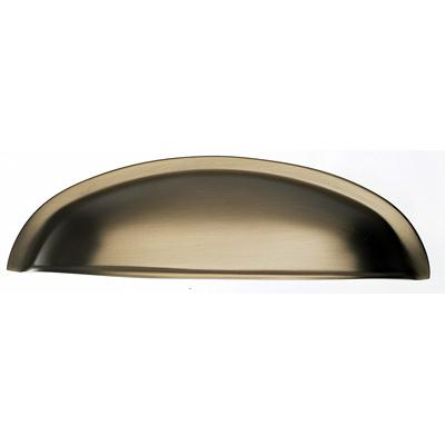 "Top Knobs M1675 Somerset Cup Pull 3"" (c-c) - Brushed Bronze"
