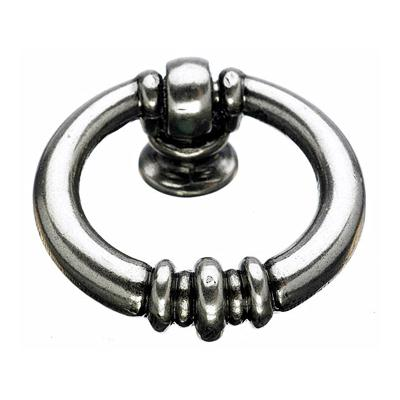 "Top Knobs M173 Newton Ring Pull 1 1/2"" - Pewter Antique"
