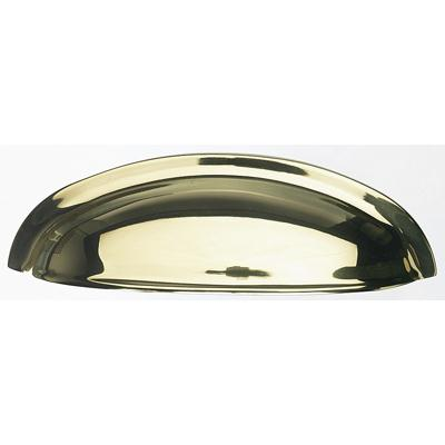 "Top Knobs M358 Somerset Cup Pull 3"" (c-c) - Polished Brass"