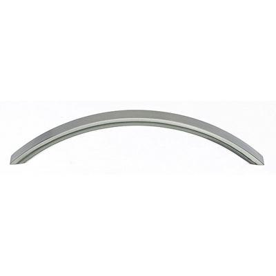 "Top Knobs M396 Crescent Pull 5 1/16"" (c-c) - Brushed Satin Nickel"