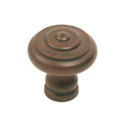 "Top Knobs M603 Step Knob 1 1/8"" - Patina Rouge"