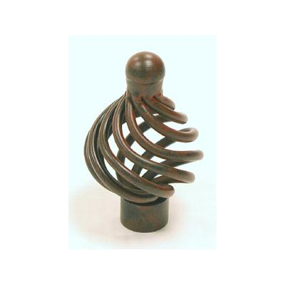 "Top Knobs M609 Flower Twist Knob 1 1/4"" - Patina Rouge"