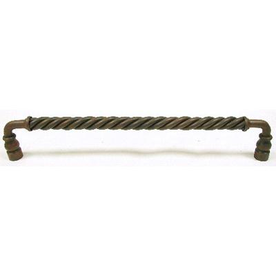 "Top Knobs M675 Twisted Bar Pull 12"" (c-c) - Patina Rouge"