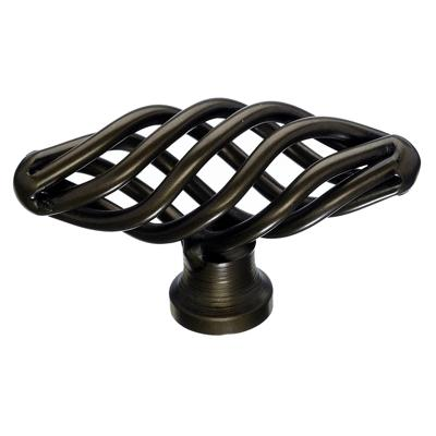 "Top Knobs M775 Oval Twist Knob Small 2 1/8"" - Oil Rubbed Bronze"