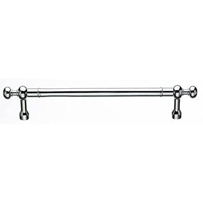 "Top Knobs M829-12 pair Somerset Weston Back to Back Door Pull 12"" (c-c) - Polished Chrome"
