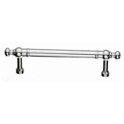 "Top Knobs M829-96 Somerset Weston Pull 3 3/4"" (c-c) - Polished Chrome"