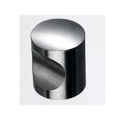 "Top Knobs SS22 Indent Knob 1"" - Brushed Stainless Steel"