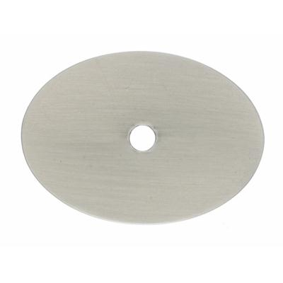 "Top Knobs TK62BSN Oval Backplate Large 1 3/4"" - Brushed Satin Nickel"