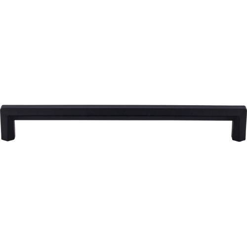 "Top Knobs TK798BLK Lydia Appliance Pull 12"" (c-c) - Flat Black"