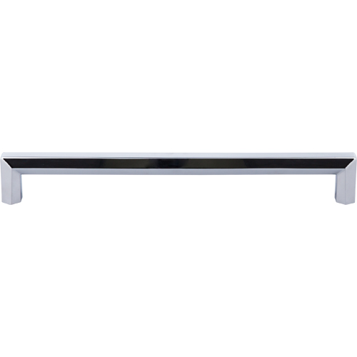 "Top Knobs TK798PC Lydia Appliance Pull 12"" (c-c) - Polished Chrome"