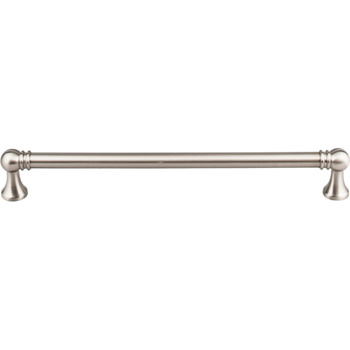 "Top Knobs TK808BSN Kara Appliance Pull 12"" (c-c) - Brushed Satin Nickel"