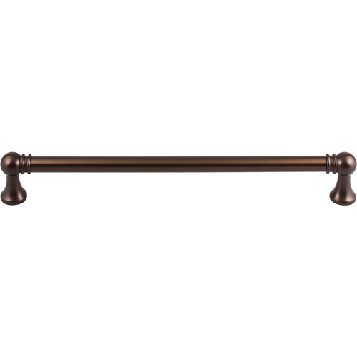 "Top Knobs TK808ORB Kara Appliance Pull 12"" (c-c) - Oil Rubbed Bronze"